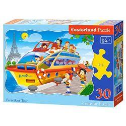 Castorland Puzzle Plavba do Paríža, 30 dielikov