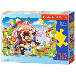 Castorland Puzzle Cirkus, 30 dielikov
