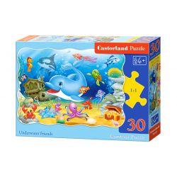 Castorland Puzzle Podmorský priatelia, 30 dielikov