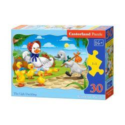 Castorland Puzzle Škaredé káčatko, 30 dielikov