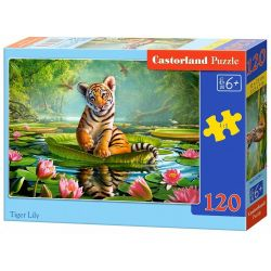 Castorland Puzzle Tiger Lily, 120 dielikov