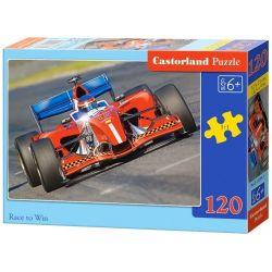 Castorland Puzzle Pretekom k víťazstvu, 120 dielikov