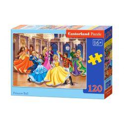 Castorland Puzzle Princezné Disney, 120 dielikov