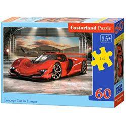 Castorland Puzzle Rýchly športiak, 60 dielikov
