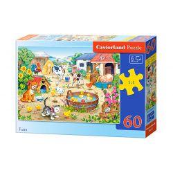 Castorland Puzzle Farma, 60 dielikov