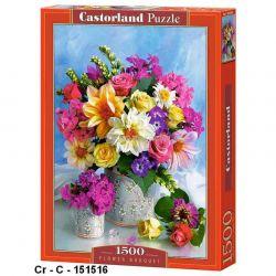 Castorland Puzzle Kytica kvetov, 1500 dielikov