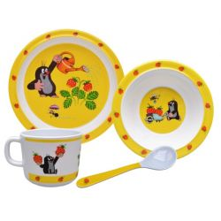 Set detského kuchynského riadu- Krtko