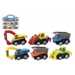 Mini autá- stavebné stroje