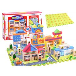 Penové puzzle mesto