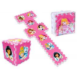 Penové puzzle Princezné Disney s číslami