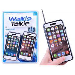 Vysielačky Walkie Talkie v tvare smartfónu