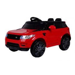 Elektrické auto červené
