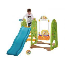 Veľké detské ihrisko 4v1