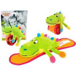 Mäkká hrkálka Krokodíl na kočík