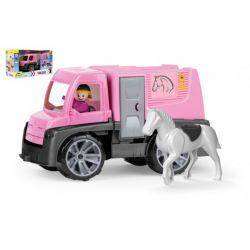 Auto Truxx- preprava koní s figúrkami