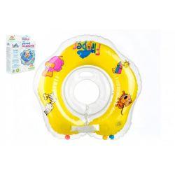 Flipper- nákrčník na plávanie, žltý