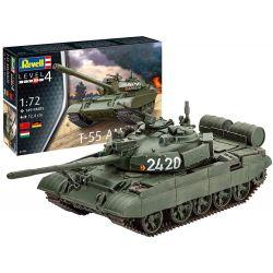 Revell model ruského tanku T-55