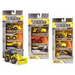Tonka stavebné stroje - set troch áut