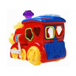 HUILE TOYS Multifunkčná lokomotíva s magickými kockami