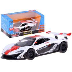 McLaren P1TM GTR GT4 kovové športové autíčko  1:32 so svetlom a zvukom, licencia