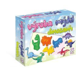 Výroba mydla: Dinosaury