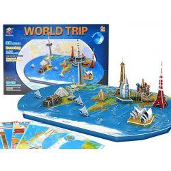 3D Puzzle – Svetová mapa