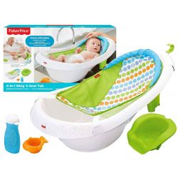 Fisher Price detská multifunkčná vanička pre bábätko 4v1, rastie s dieťaťom