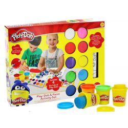 Play-Doh umelecký set, modelovacia hmota + farby