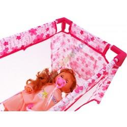 TUTU love – veľká cestovná postieľka pre bábiky