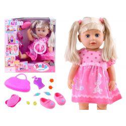 Hovoriaca bábika Baby Twins s príslušenstvom