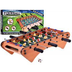 Mini drevený stolný futbal 50x25 cm