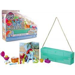 Hasbro: My Little Pony Rainbow Dash + výbava na piknik v kabelke