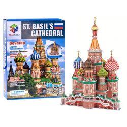3D Puzzle – Katedrála sv. Vasilija Blaženého v Moskve