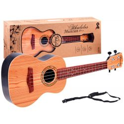 Gitara s remeňom, 61,5 cm, 2 farby