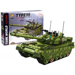 Konštrukčná stavebnica Typ 99 - 1600 častí, Tank