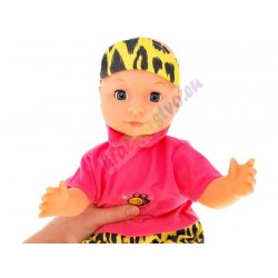 TUTU love hovoriaca senzorická bábika - reaguje na pohyb