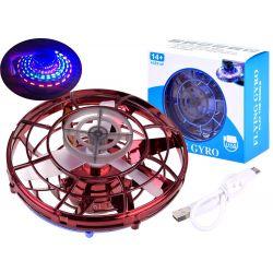 Flying Gyro – lietajúci antistresový LED spinner, 3 farby