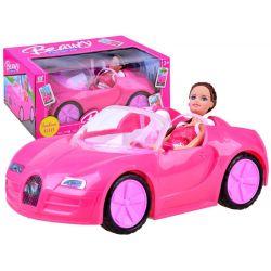Veľké autíčko pre dievčatá + bábika