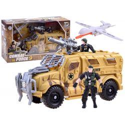 COMBAT FORCE 9: Bojové auto s príslušenstvom