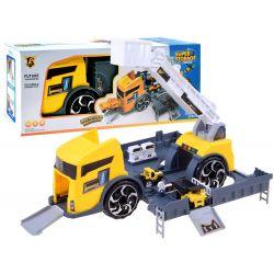 Rozkladacie nákladné auto/garáž 2v1