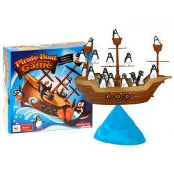Tučniaky na pirátskej lodi