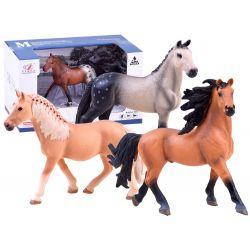 Maľovaná figúrka koník, 4 modely