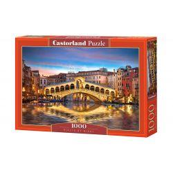 Castorland Puzzle Nočný most, 1000 dielov