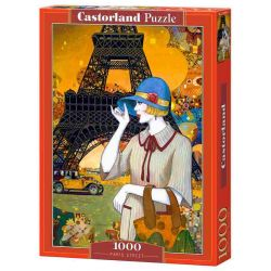 Castorland Puzzle Parížská ulica, 1000 dielov