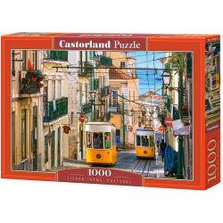 Castorland Puzzle Tramvaje v Lisabonu, 1000 dielov