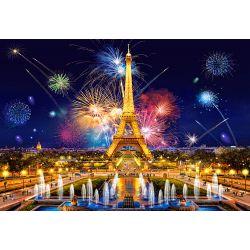 Castorland Puzzle Nočná Paríž, 1000 dielov