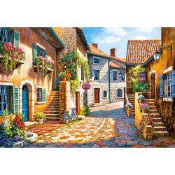 Castorland Puzzle Ulička v dedine, 1000 ks