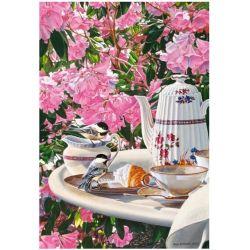 Castorland Puzzle Raňajky v záhrade, 1000 ks