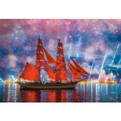 Castorland Puzzle Červená fregata, 1000 dielov
