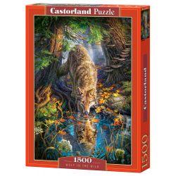 Castorland Puzzle Vlk vo voľnej prírode, 1500 ks